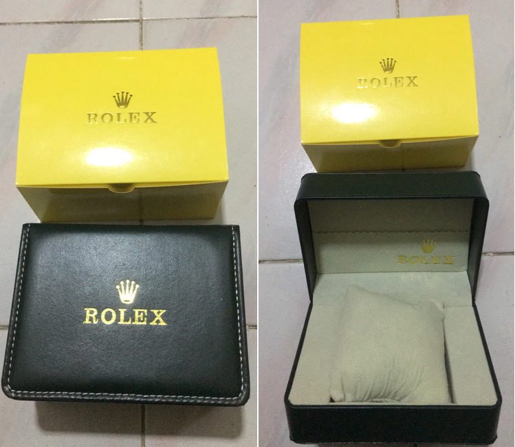 free rolex watches box